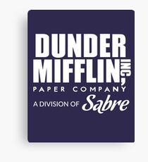 Dunder Mifflin Paper Company, A Division of Sabre — The Office Canvas Print
