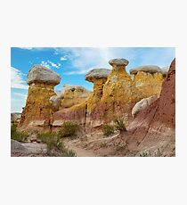 Colorado Paint Mines Formations Photographic Print