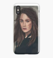 Illustration Saoirse ronan iPhone Case/Skin