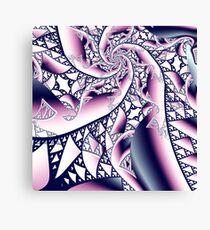 Fractal lace Canvas Print