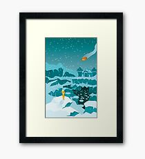 Metroid Prime Phendrana Drifts Framed Print