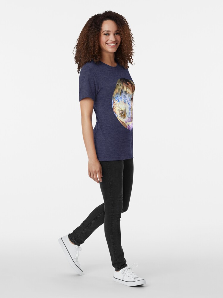 Alternate view of Witch Doctor Ozymandias: Ozymandias Brown Tri-blend T-Shirt