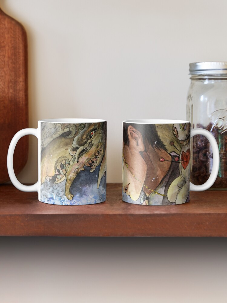 Alternate view of Witch Doctor Ozymandias: Ozymandias Brown Mug