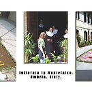 """Montefalco Series #05 – Flowers in the Streets """"Infiorata"""", a local custom by Keith Richardson"""