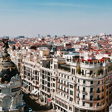 Overlooking Madrid by BackpackPhoto