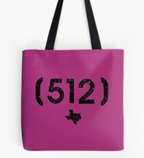 Area Code 512 Texas Tote Bag