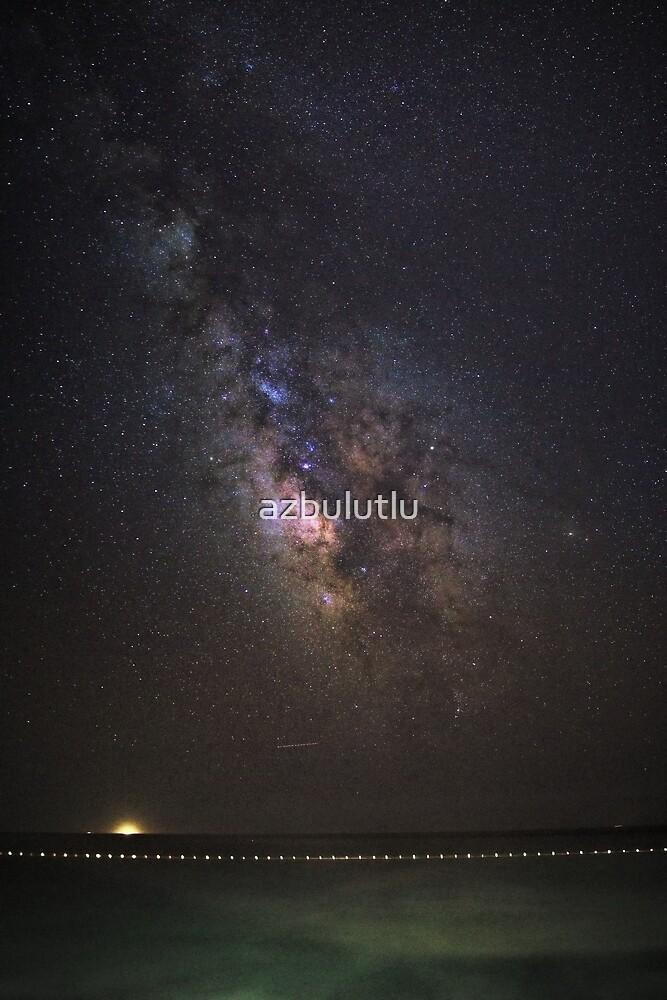 Milkyway Panorama by azbulutlu