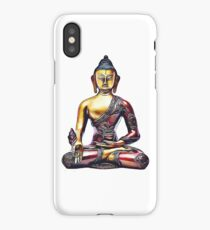 Illustration with Buddha iPhone Case/Skin