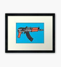 Gun  Framed Print