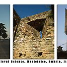 Montefalco Series #06 – Back when stone was defense against arrows. by Keith Richardson