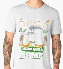 Get plowed by a pro sleep with a farmer Men's Premium T-Shirt