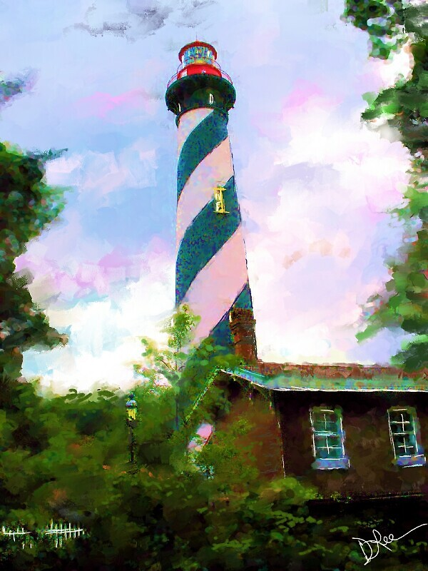 St. Augustine, Florida Lighthouse by debraleelee