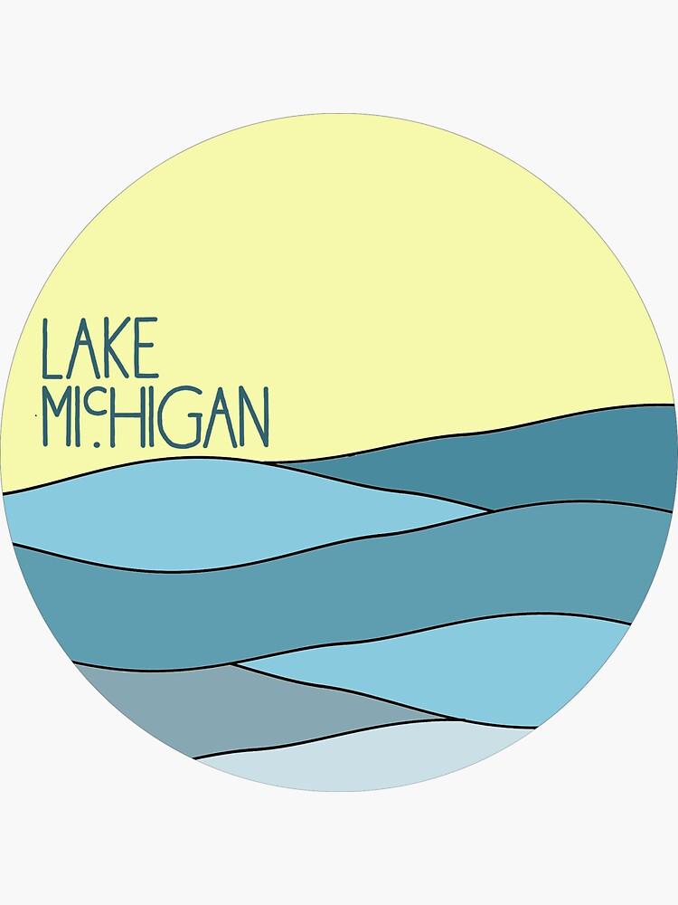 Lake Michigan  by brookenich05