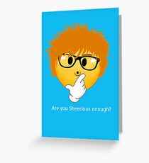 Sheerio-Effect Sheerious Emoji Greeting Card