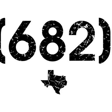 Area Code 682 Texas by BearSquared