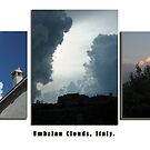 Montefalco Series #08 – Beautiful Cloud Formations over Montefalco by Keith Richardson
