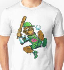 Baseball Monkey - Lime T-Shirt
