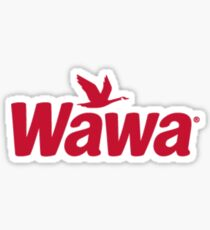 Wawa Logo Sticker