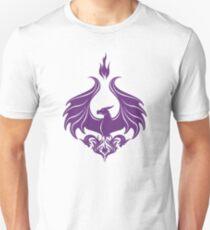 Dragon Damask - Amethyst Purple T-Shirt