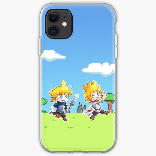 Kagamine twins - king and knight iPhone Soft Case