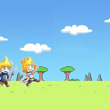 Kagamine twins - king and knight by happycricketbox