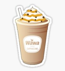 Wawa Cappucino Sticker