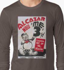 Vintage Retro Funny Laugh Hit Cartoon 1960s 1950s T-Shirt