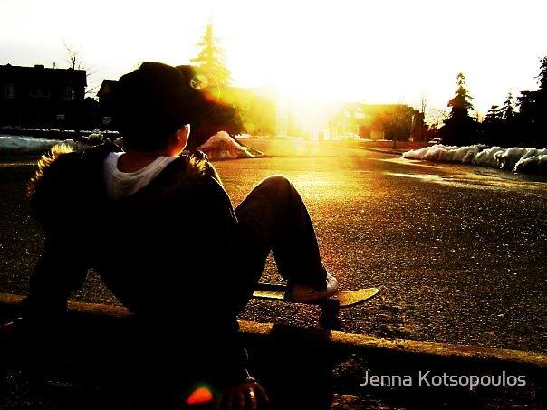 long day skating by Jenna Kotsopoulos