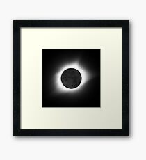 North America Total Solar Eclipse 2017 Framed Print
