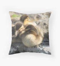 ducky2 Throw Pillow
