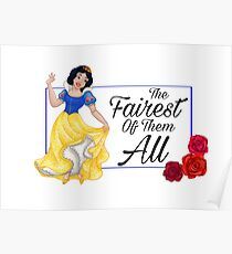 Snow White- Fairest of Them All Poster
