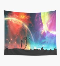 the universe is under no obligation to make sense to you Wall Tapestry