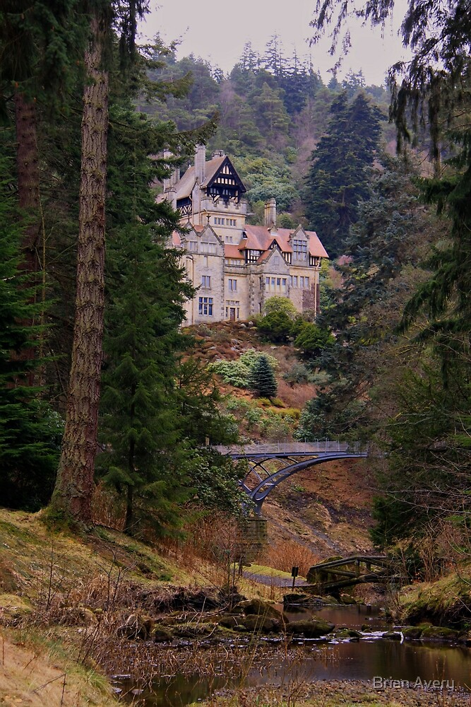 Cragside Hall by Brian Avery