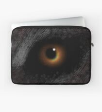 The EVIL EYE Of The Eclipse! Laptop Sleeve