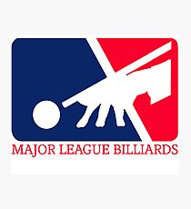 Major League Billiards Photographic Print