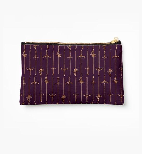 Swords - Gold & Purple by sheppard56
