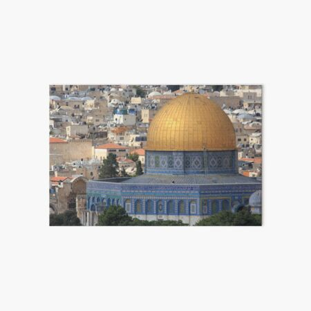 Israel Jerusalem Altstadt Historic Town Felsendom Dome of the Rock Galeriedruck