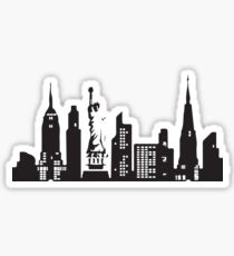 NYC Skyline Sticker