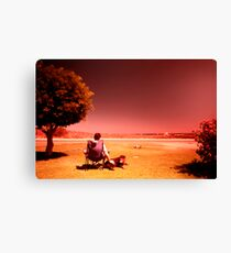 Australiana: Sun Drenched Canvas Print