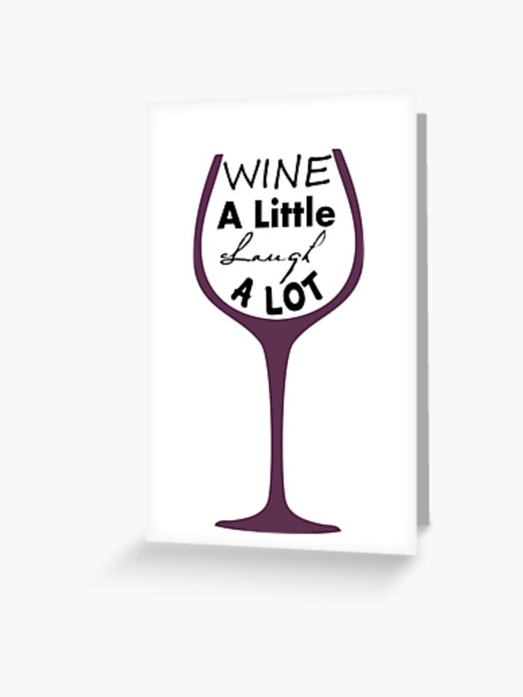 Wino Cards Wine a little laugh a lot