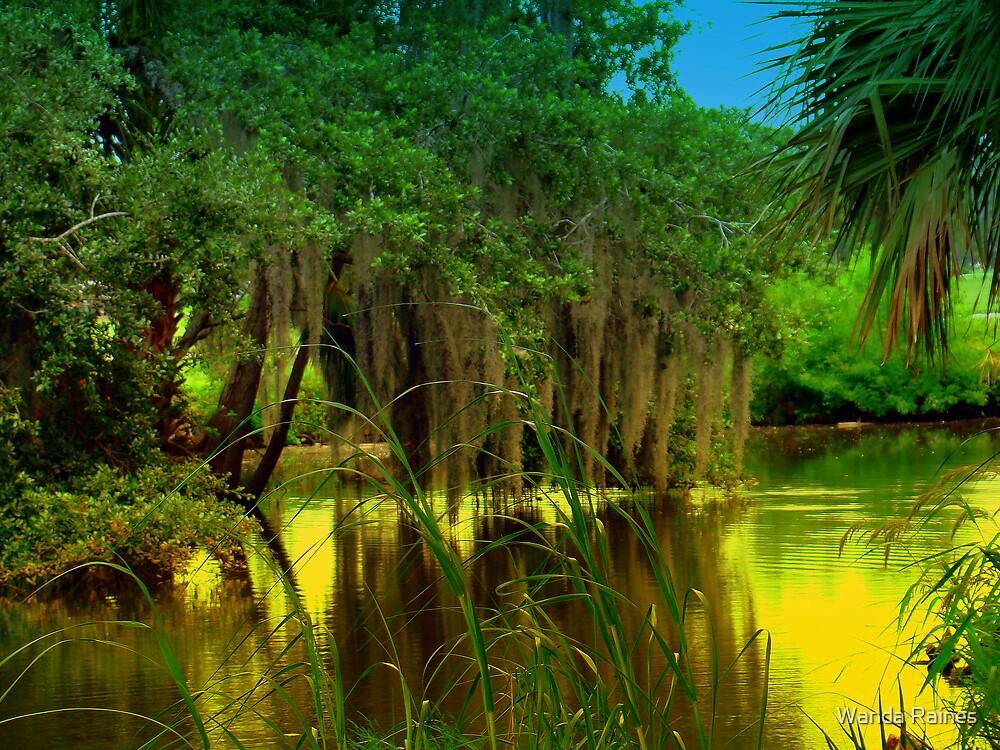 Golden Lagoon by Wanda Raines