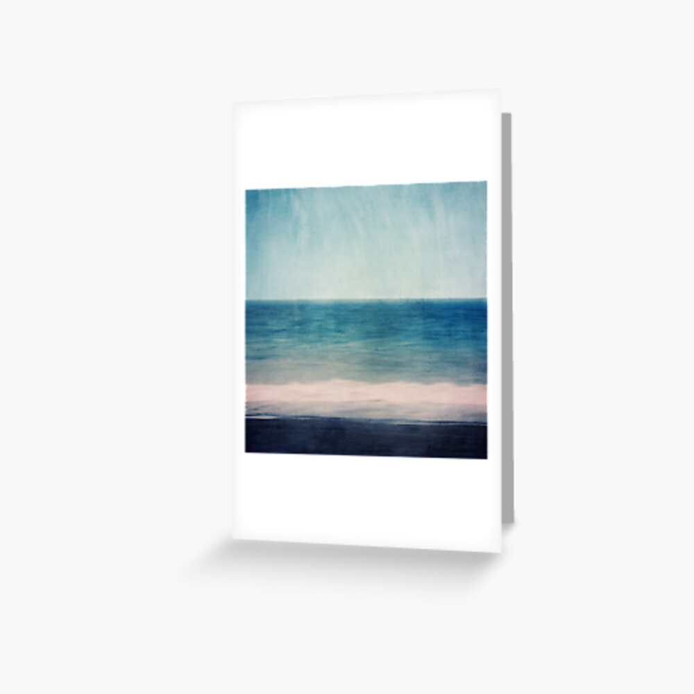 Absctract Seascape No 1 Greeting Card