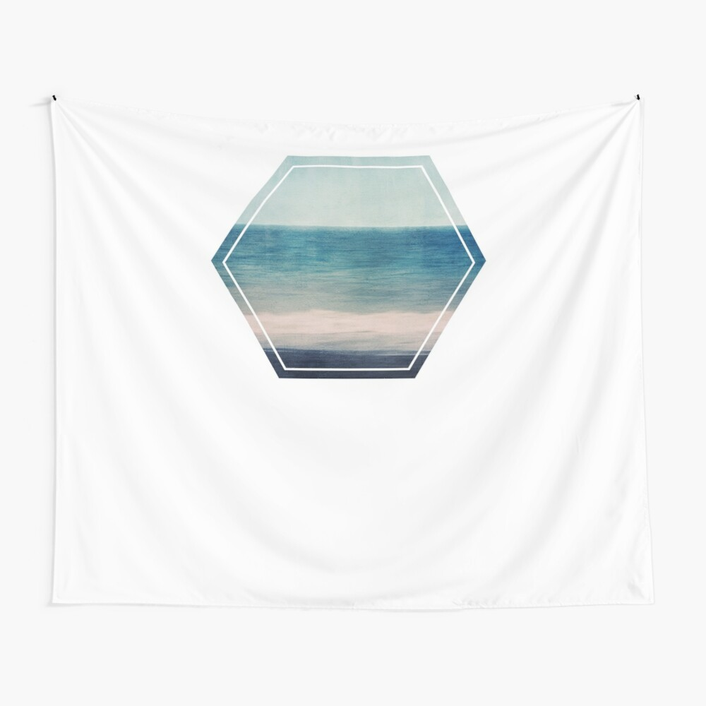 Absctract Seascape No 1 Wall Tapestry