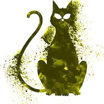 I love my Cat by Delpieroo