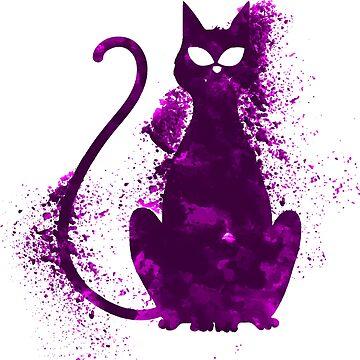 Crazy Cat by Delpieroo