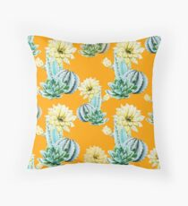 Cactus Pattern 04 Throw Pillow