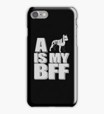 Pit Bull Is My Best Friend Forever T-Shirt !!! iPhone Case/Skin