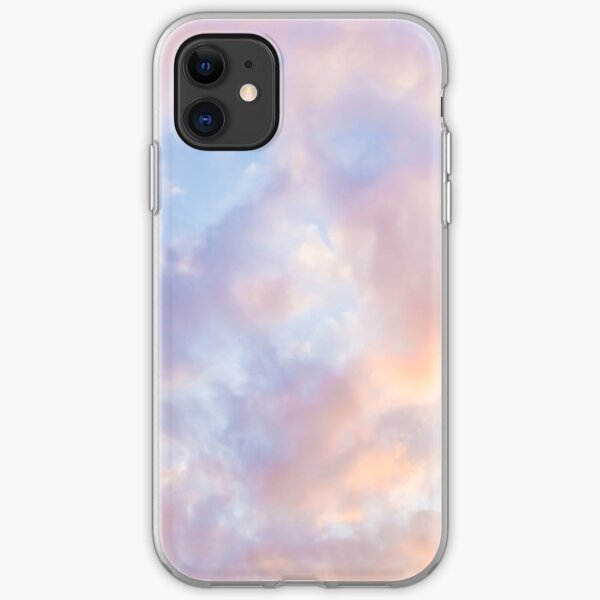 Pink sky iPhone Soft Case