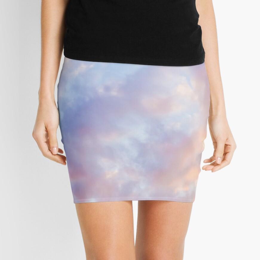 Pink sky Mini Skirt