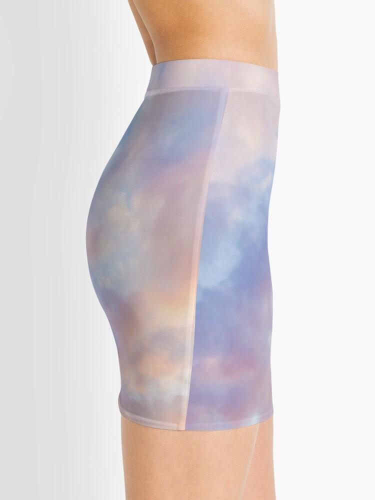 Alternate view of Pink sky Mini Skirt